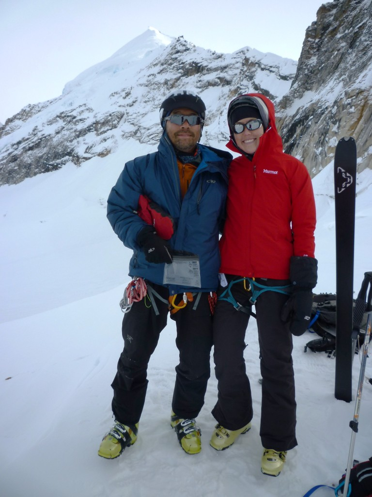 Kim and Jim Mt Barille, Denali Natl Park